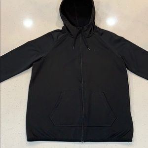 All Black Nike Therma-Fit Zip-Up